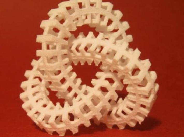 Escher knot medium 3d printed Description