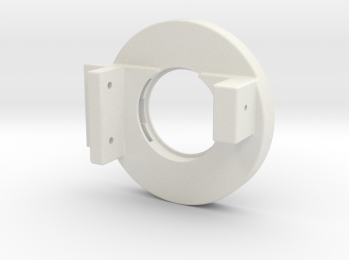 Rampage Encoder Mount Left Back 3d printed