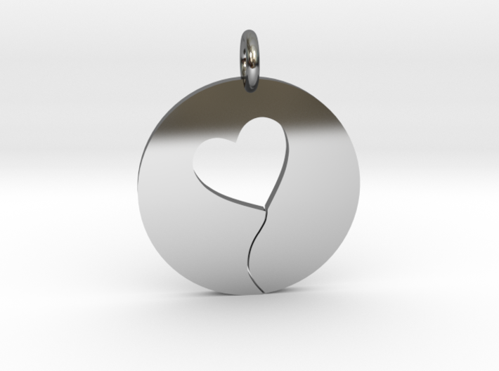 Heart String 3d printed