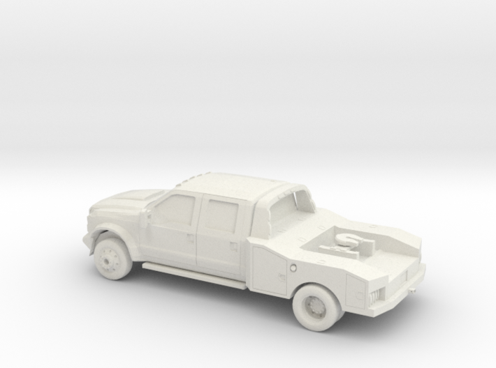 1/87 2011 Ford F450 King Ranch Fith Wheel 3d printed