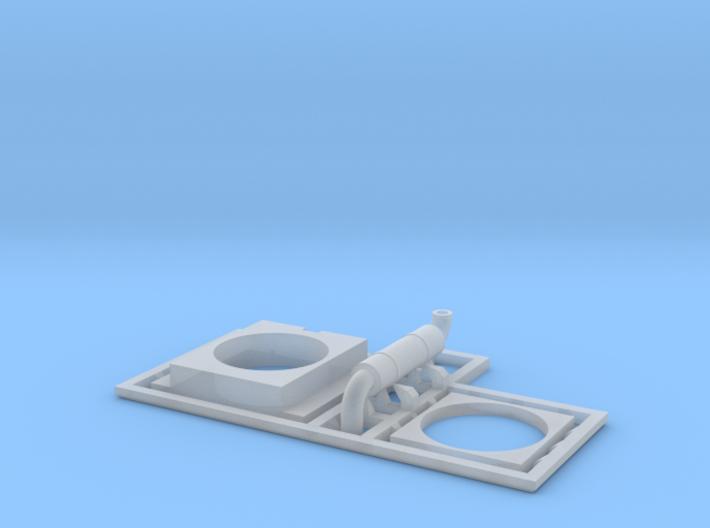 VIA FP9ARM Head End Power Generator (Thin base) 3d printed