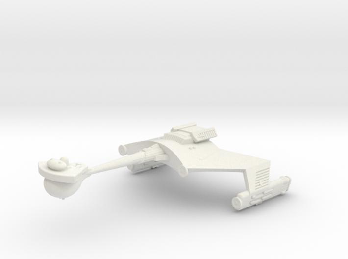 3788 Scale Klingon D6S Heavy Scout Cruiser WEM 3d printed