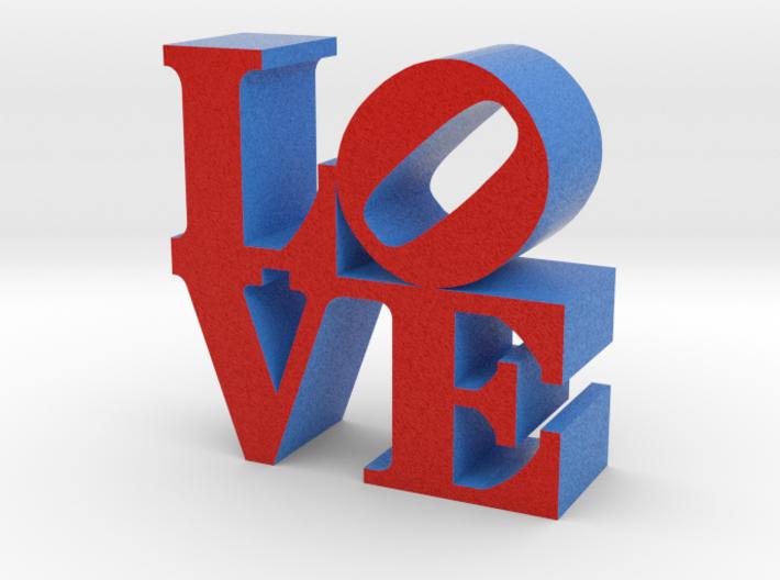 Love Sandstone 3d printed