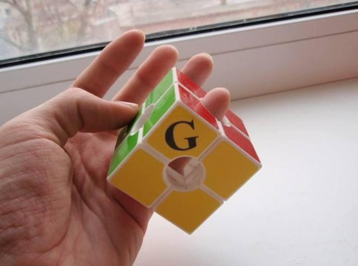 Never Cube 3d printed 4