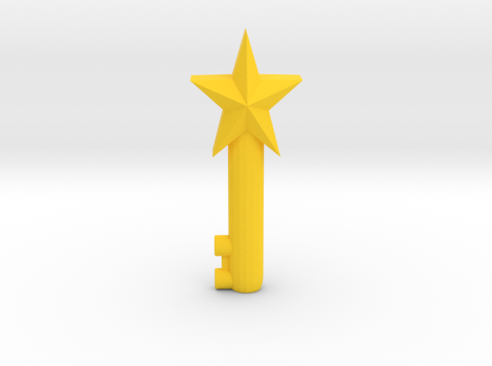 Mary's Magical Adventure - Keys 3d printed Yellow star