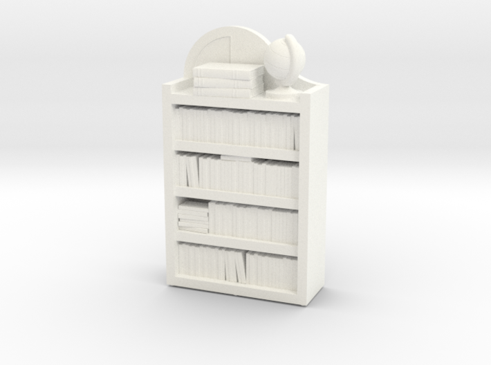 Dollhouse / O-Scale (1:48) Child's Bookshelf 3d printed