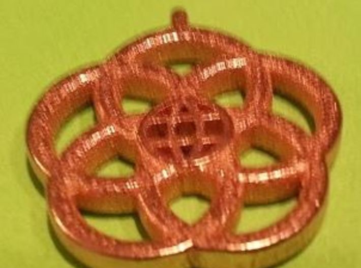 Epcot Logo Small Bail (0.9mm) 3d printed