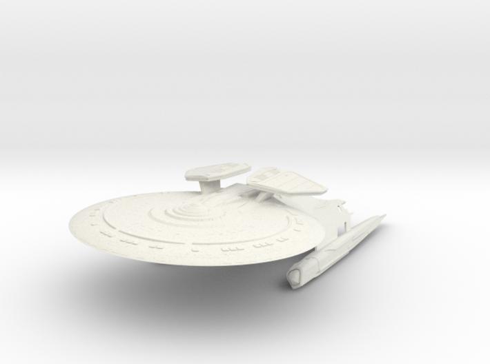 Geronimo Class V refit Battleship 3d printed