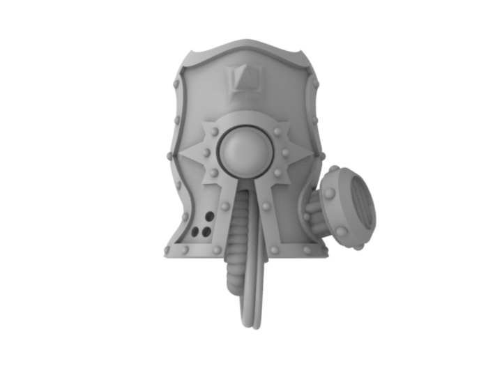 Death Guardian - Face Plate 3d printed