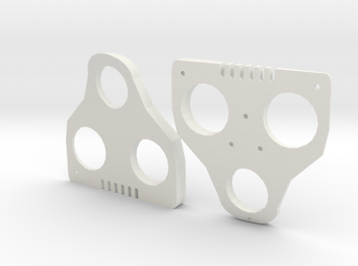 6° Wedges for SPD-SL and Keo 3d printed