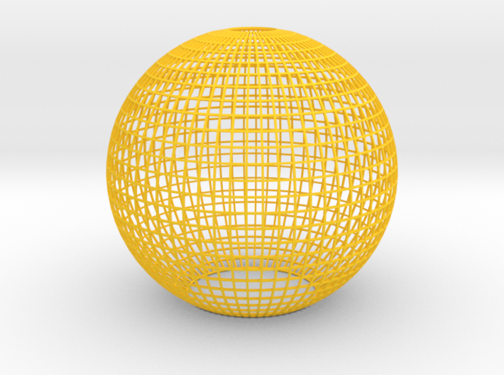 Grid Lampshade 3d printed