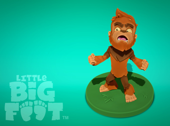 Little Bigfoot Yell Medium 3d printed Species: Little Bigfoot