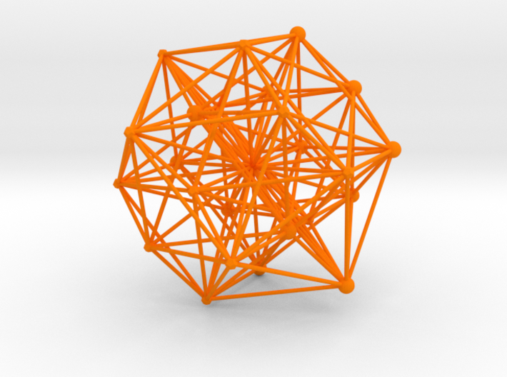 E8ArtPrint0007 24 Cell Projection 3d printed