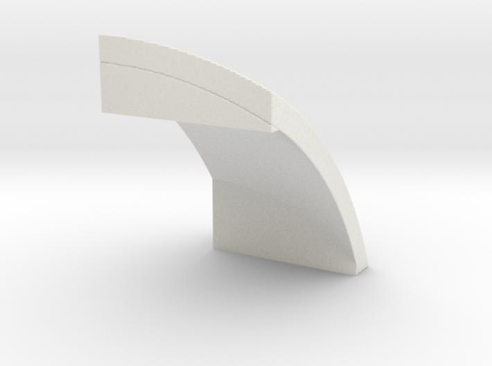 4x4 ball edge 3d printed