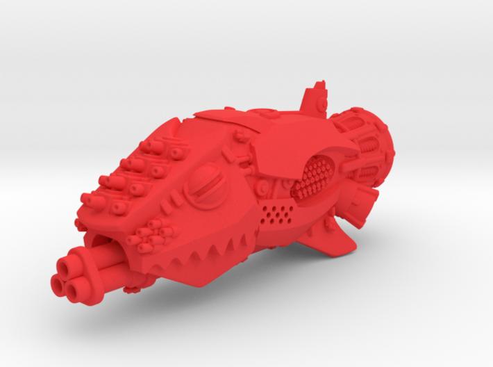 Git-Killa Battleship 3d printed