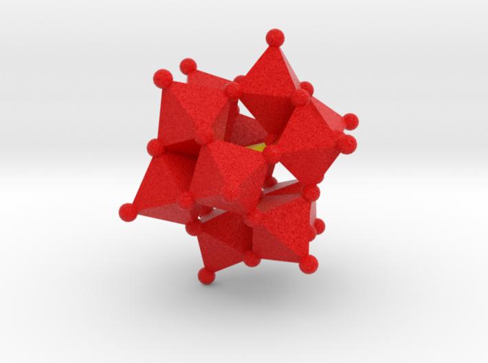 Alpha Keggin Ion 3d printed