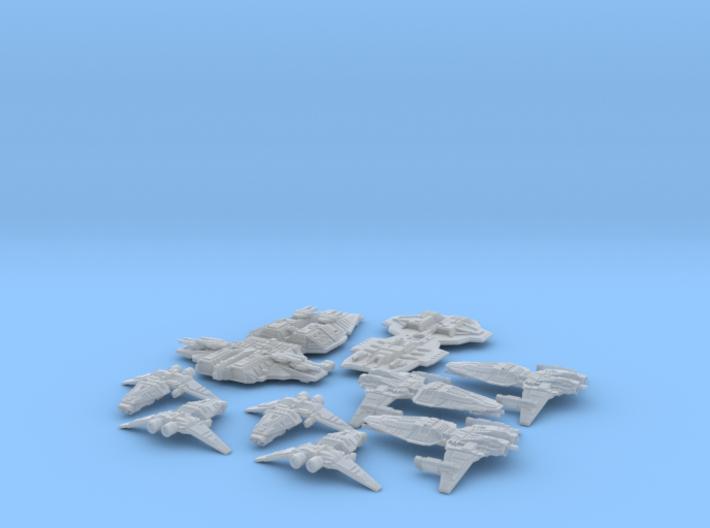 HOMEFLEET Fleet pack #01 3d printed