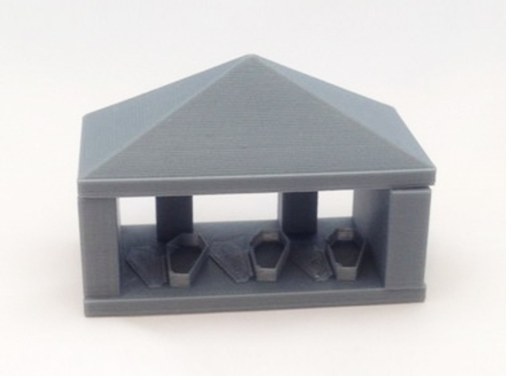 Vampires Crypt with roof 3d printed