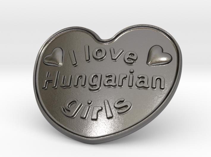 I Love Hungarian Girls 3d printed