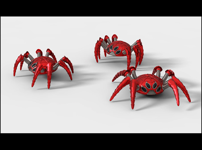 ACC-13-Spiders  6-7inch 3d printed