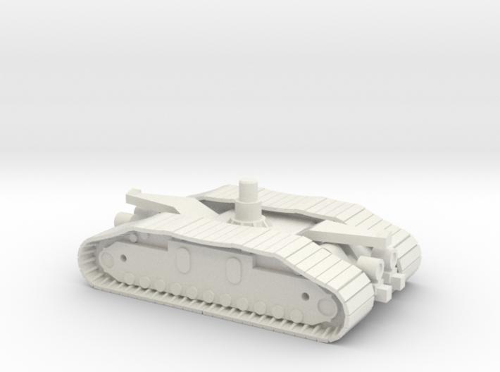 1/144 Crawler Unit - NASA Apollo 3d printed