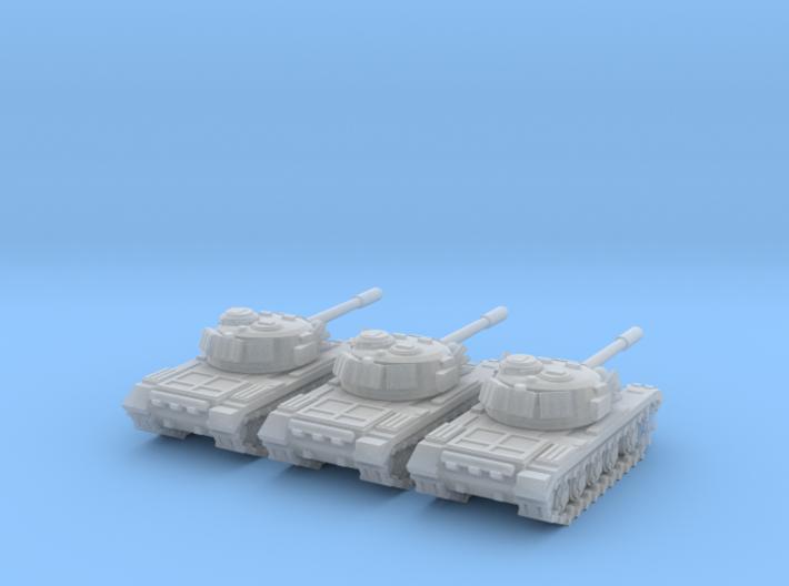 6mm Tank 1950-60s 3d printed