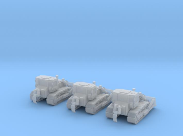 6mm Bulldozer X3 3d printed