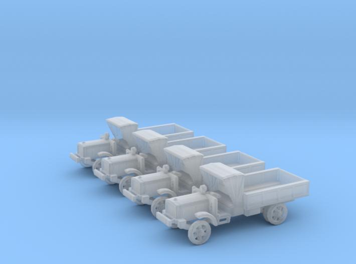 6mm WW1 light trucks (4) 3d printed