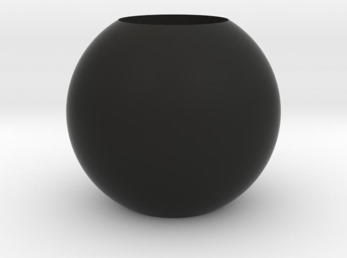 Acoustic Sphere (19mm mic) (40mm diameter) 3d printed Acoustic Pressure EQ for 19mm microphones