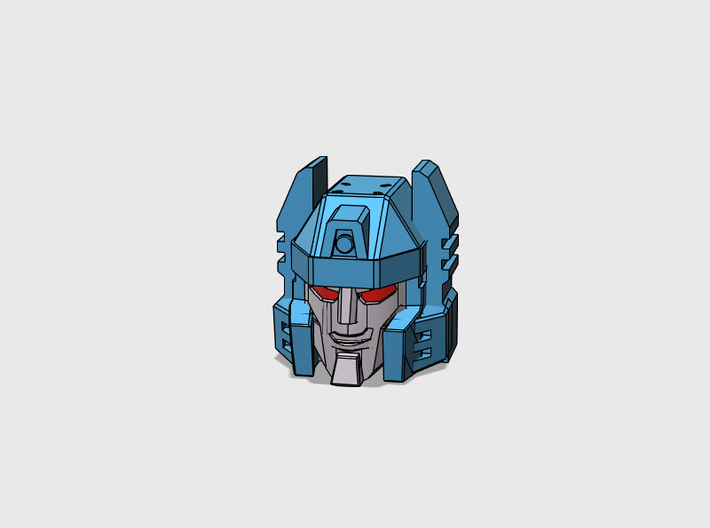 Twin-Cockpit Dueller's Face IDW G1 style 3d printed