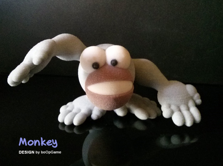 boOpGame Shop - The Monkey 3d printed boOpGame - The Monkey
