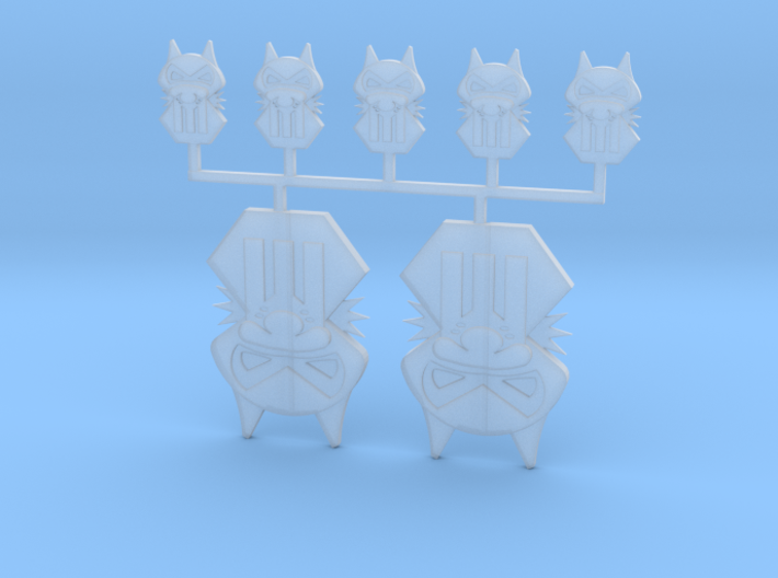 Vehicle Icon Set - Iron Jackals 3d printed