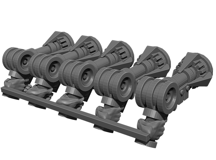 Grappling Pistol Weapons Pack 3d printed