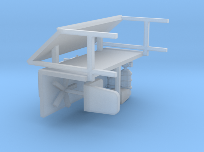 Office Furniture 1-87 HO Scale 3d printed