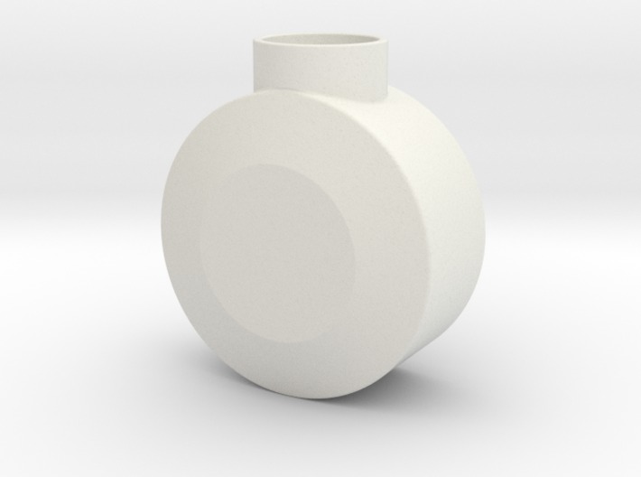 Round Pommel 3d printed