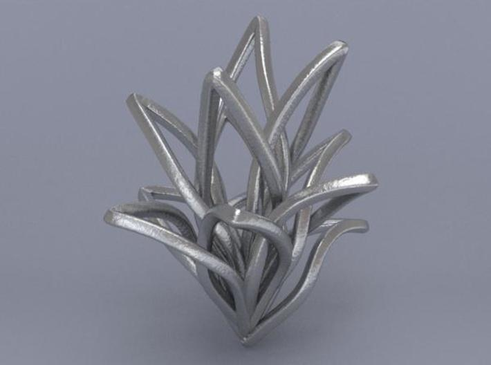 Spiral Flower 3d printed Render 1