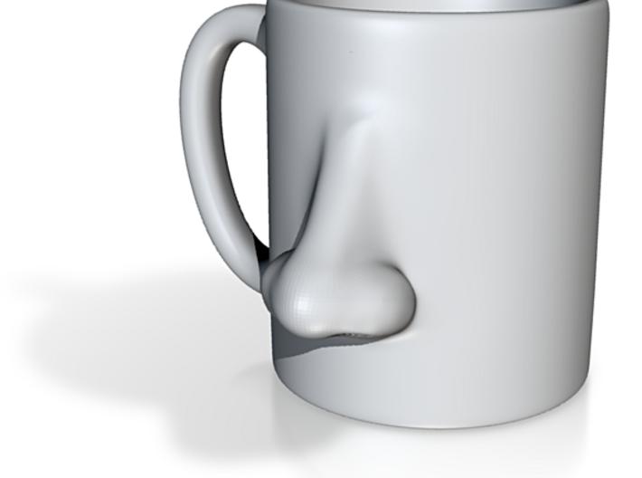 Nose Mug 3d printed