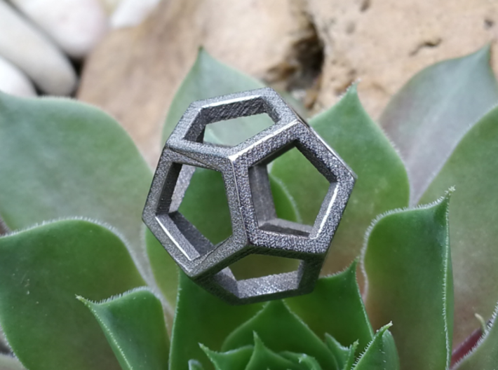 Dodecahedron Wire 3d printed