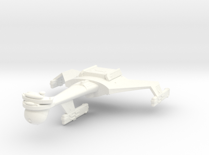 3788 Scale Klingon C8B Dreadnought WEM 3d printed
