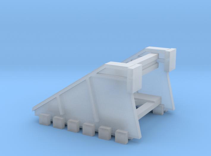Buffer stop N scale 3d printed