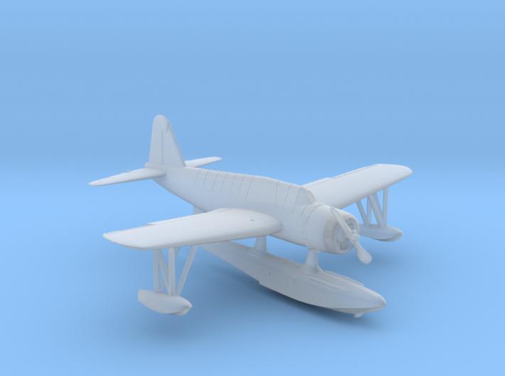 1/172 USN Vought OS2U Kingfisher Seaplane 3d printed
