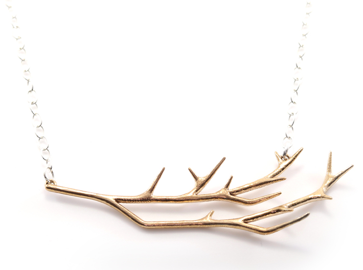 Delicate Branches Pendant 3d printed