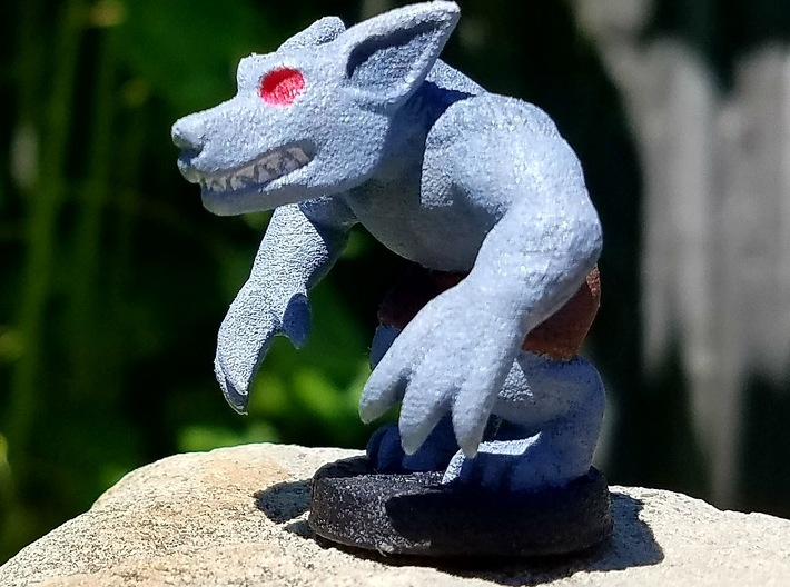 Basic Werewolf (Chthonic Souls Edition) 3d printed