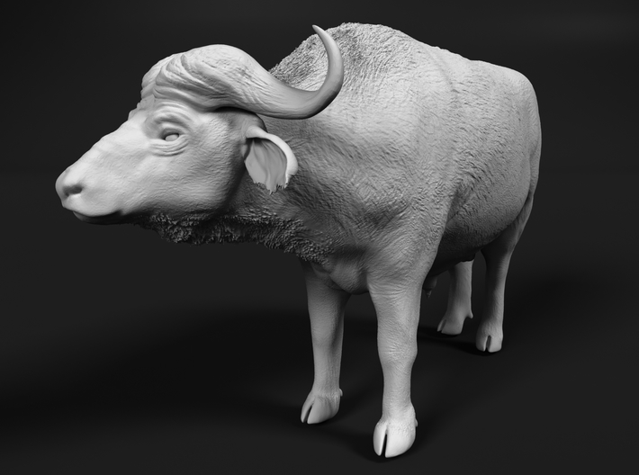 Cape Buffalo 1:35 Standing Male 1 3d printed