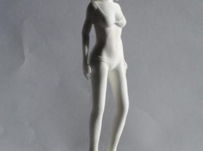 """Figurine """"Hana"""" (17cm)  3d printed Picture Front"""