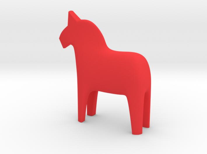 Dala Horse 3d printed