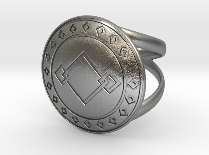 dady's ring   3d printed