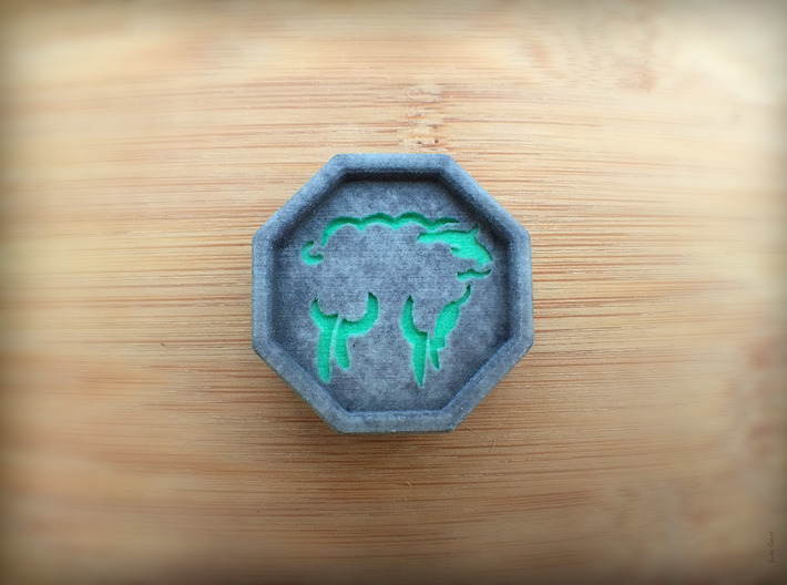 Sheep Talisman 3d printed