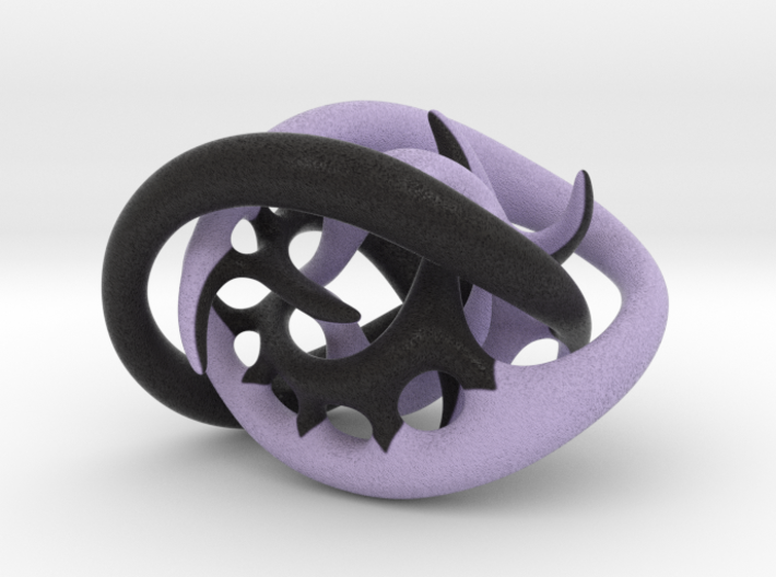 Texture experiment, round ends 3d printed