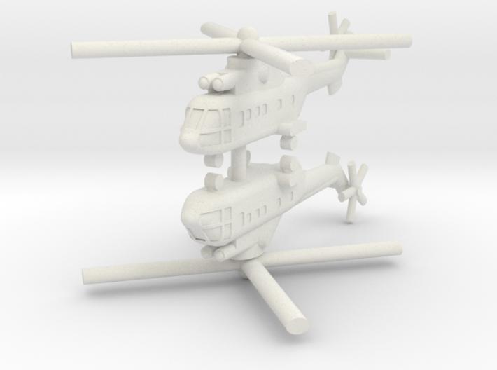1/250 AS-332 Super Puma (x2) 3d printed